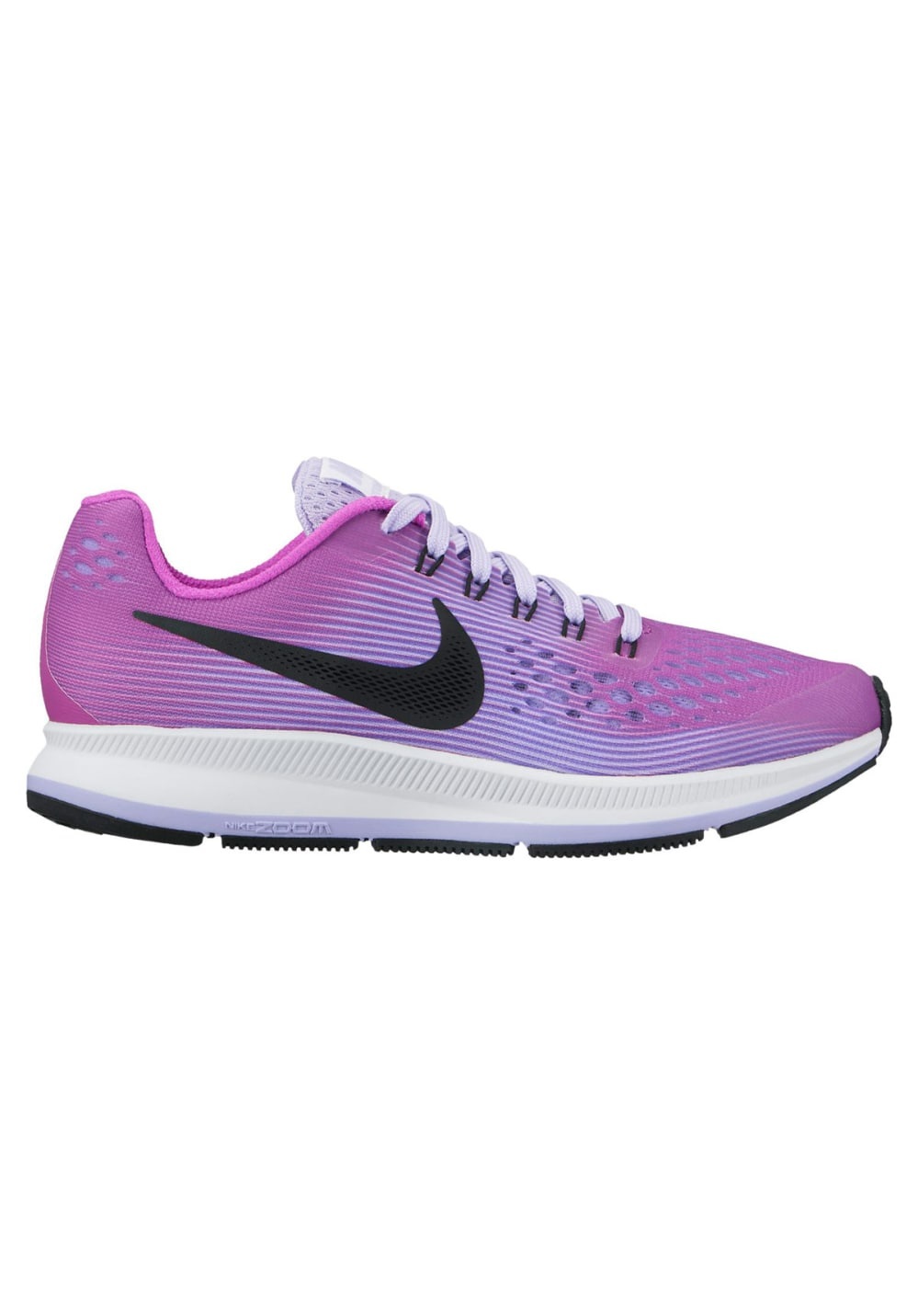 outlet store 6b20d 70517 Nike Zoom Pegasus 34 GS Girls - Running shoes - Purple