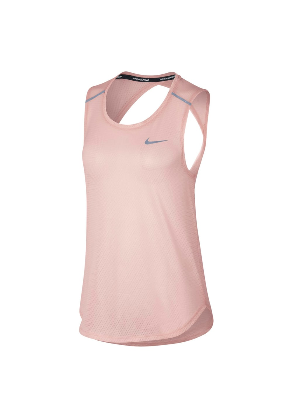 Nike Breathe Running Tank - Running tops for Women - Pink  820c7aa41