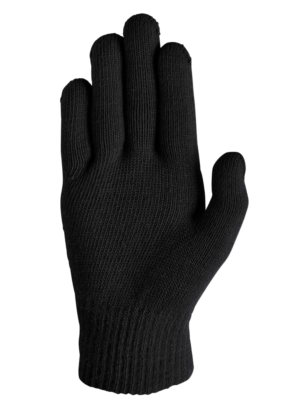 Nike Ya Swoosh Knit Gloves Running Black 21run 9c3c904756c