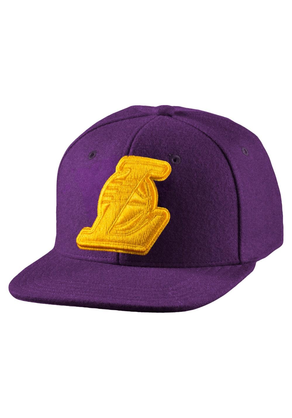f1b0e0085b6a9 adidas Originals NBA Snapback Cap Lakers Superstar Aop - Gorros ...