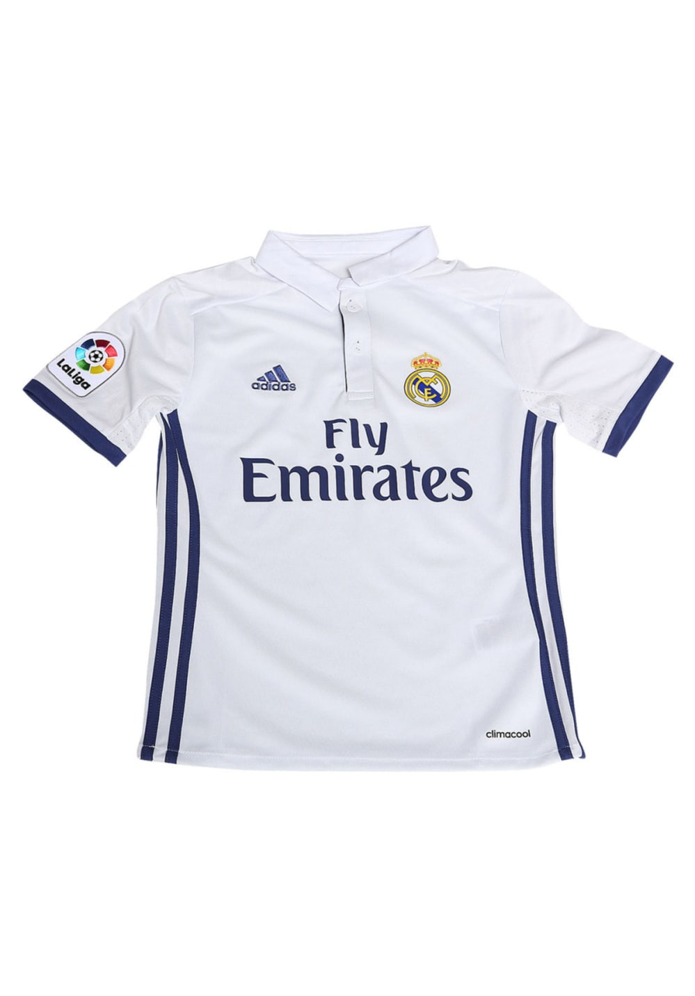 reputable site 708a2 e73ef adidas Real Madrid Home Jersey Youth - T-Shirts - Grey