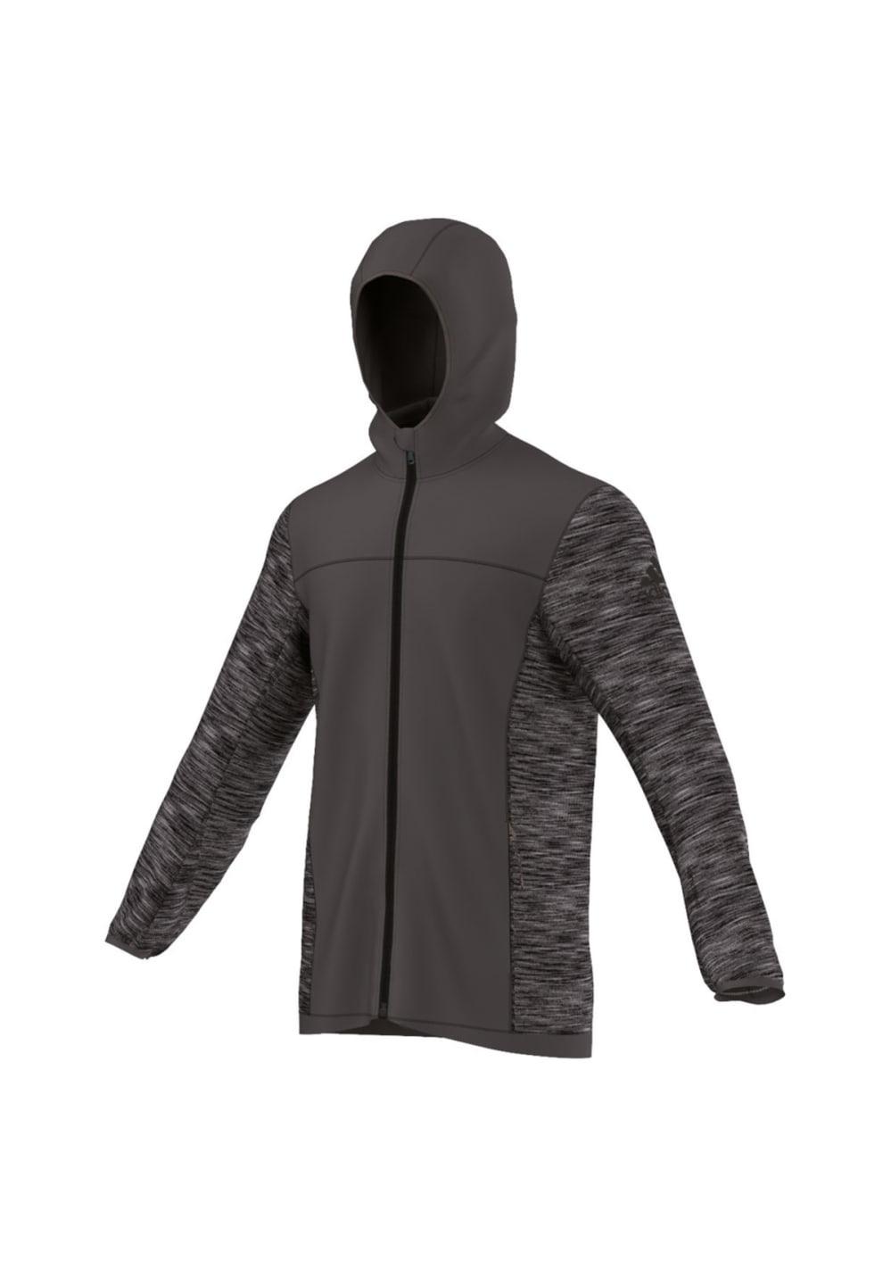 adidas CLIMAHEAT PRIMEKNIT HYBRID JACKET Damen grau Jacken