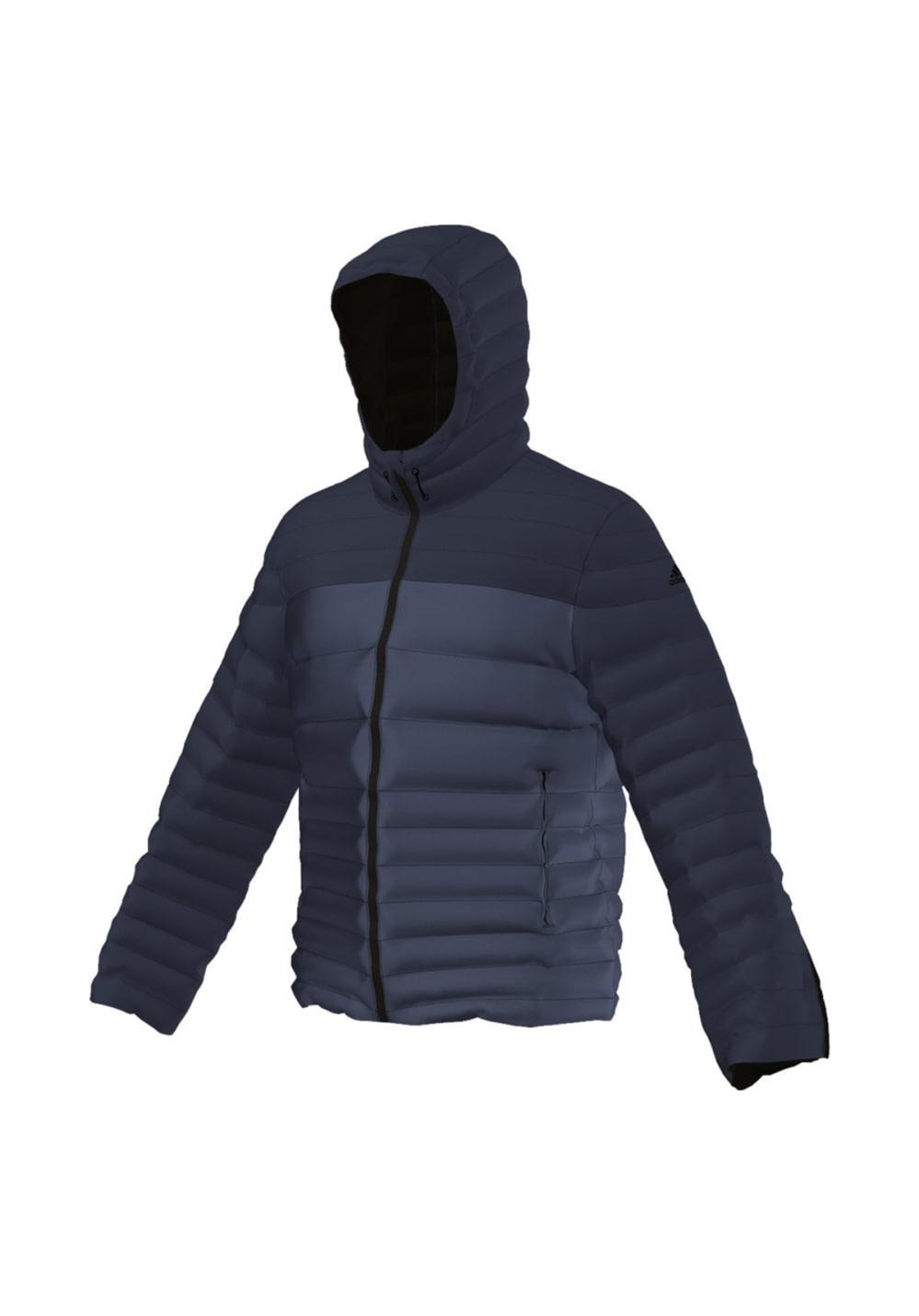 on sale 0d1ce 6e7b6 adidas Cosy Down Jacket - Vestes course pour Homme - Noir   21RUN