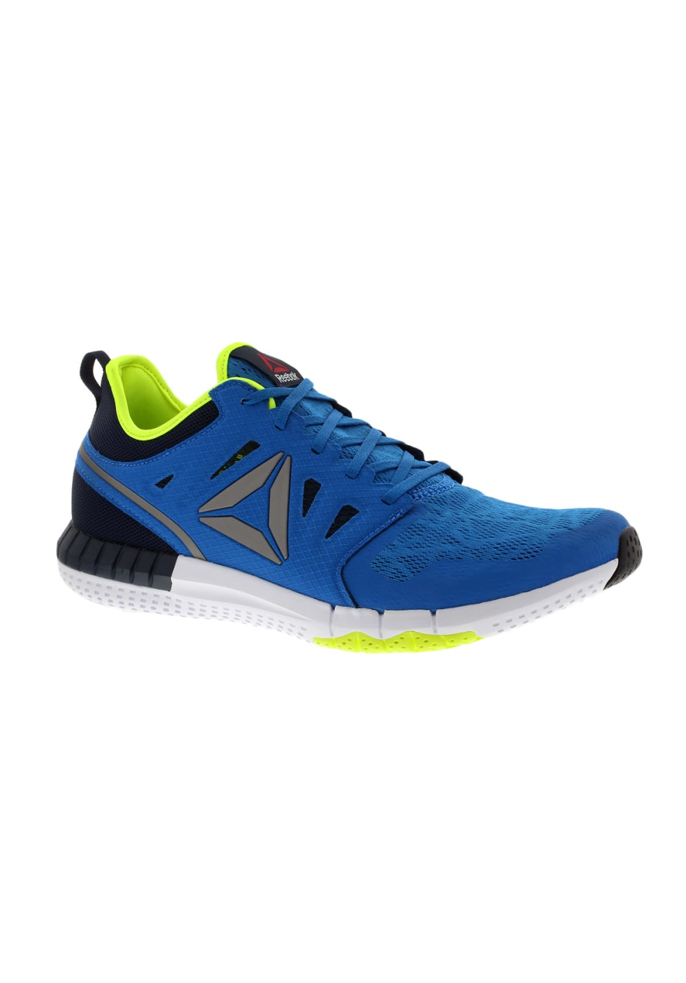 reebok zprint 3d running shoes for men blue 21run