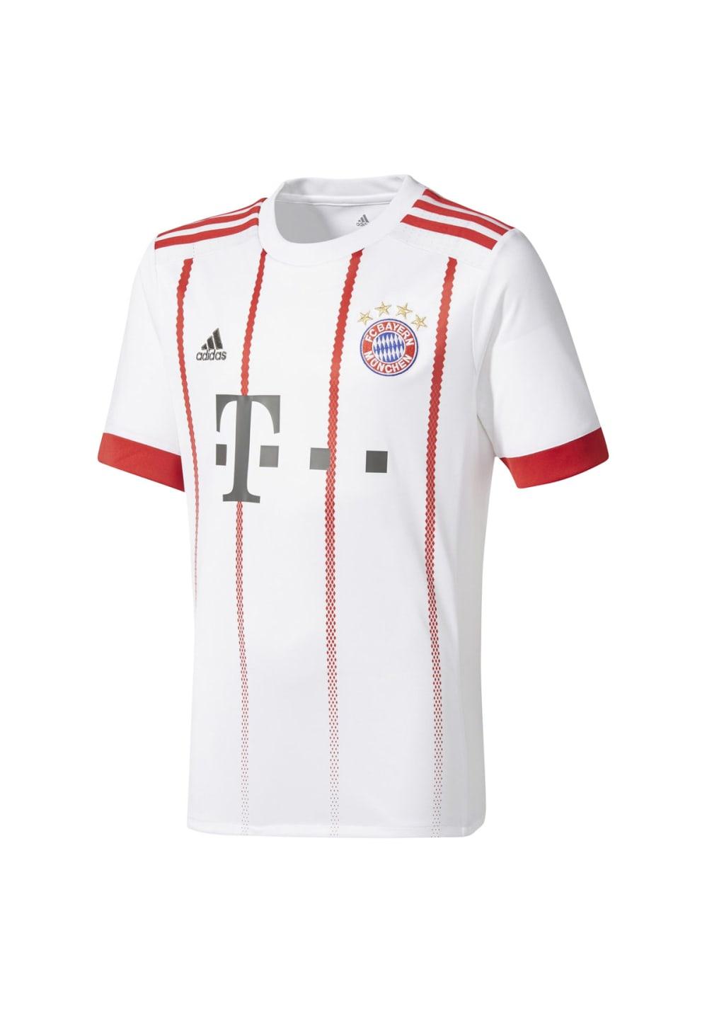 huge selection of cf844 c3db5 adidas FC Bayern Munich UCL Replica Jersey - T-Shirts - White