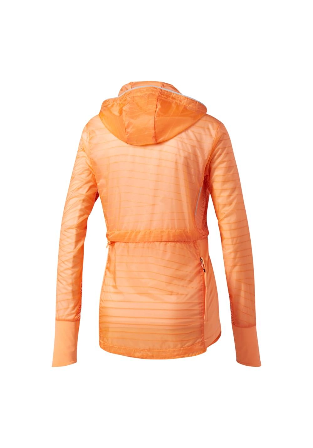 veste adidas orange femme