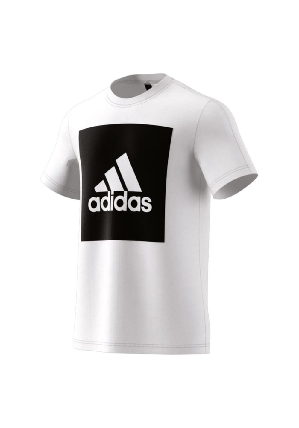 07afd1400 Previous. Next. adidas. Essentials Big Box Logo Tee - Running tops for Men