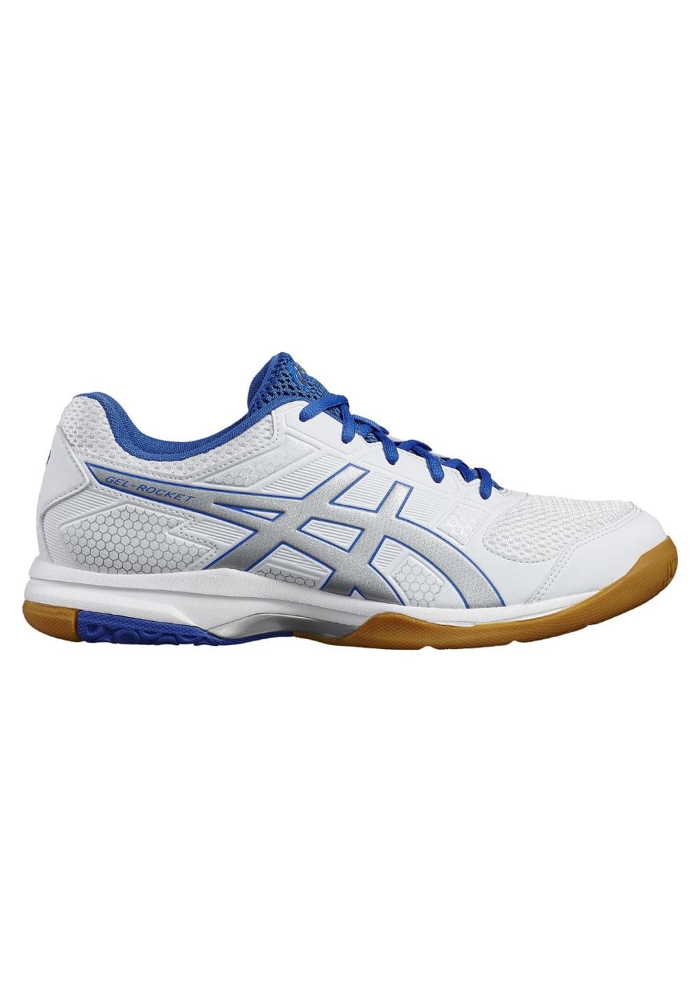asics gel-rocket 8 chaussures de volleyball homme blanc