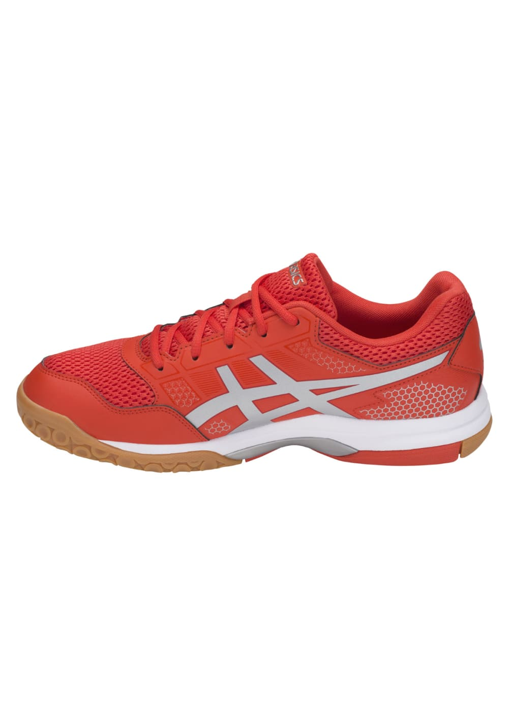 8 Rouge De Asics Gel Chaussures Pour Volleyball Homme Rocket