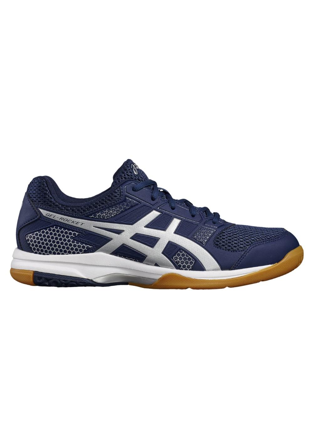 ASICS GEL Rocket 8 Chaussures de volleyball pour Homme Bleu