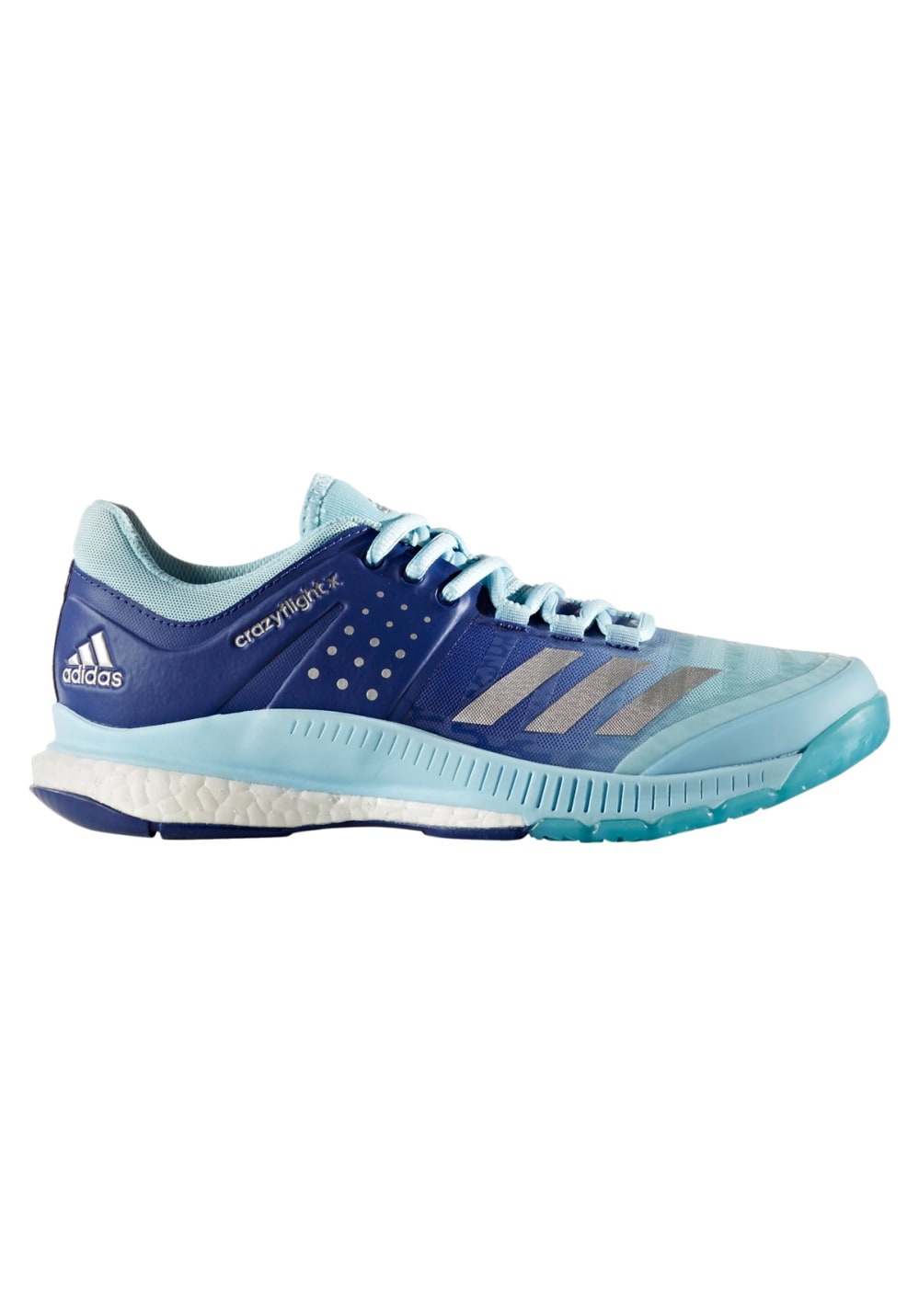 adidas Crazyflight X - Volleyballschuhe für Damen - Blau