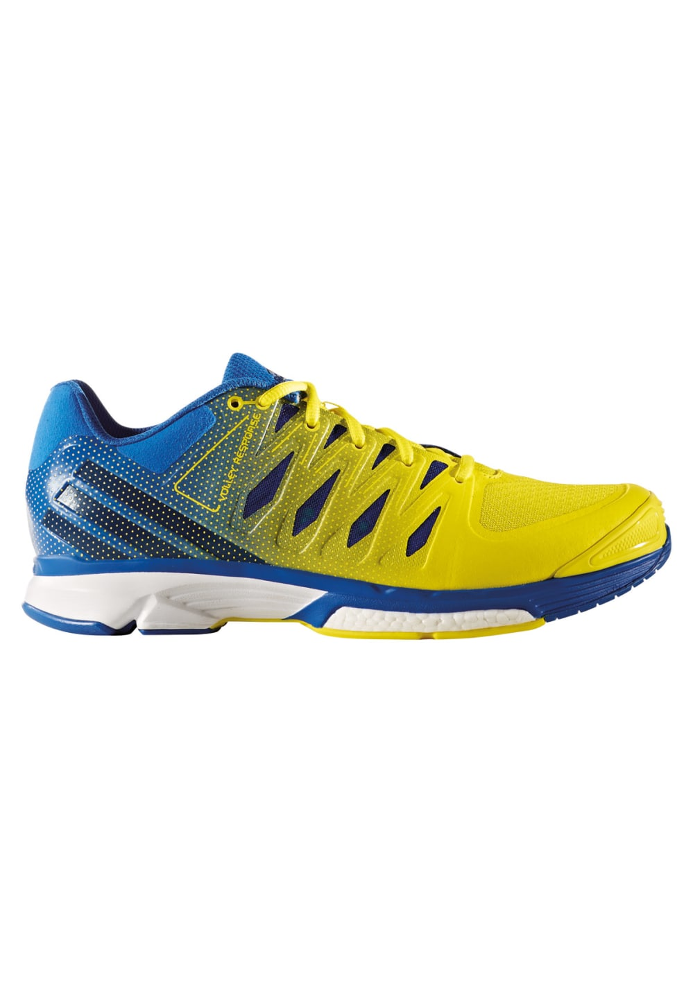 adidas Volley Response 2 Boost - Volleyball shoes for Men - Yellow ... 9b9ecb2e72537