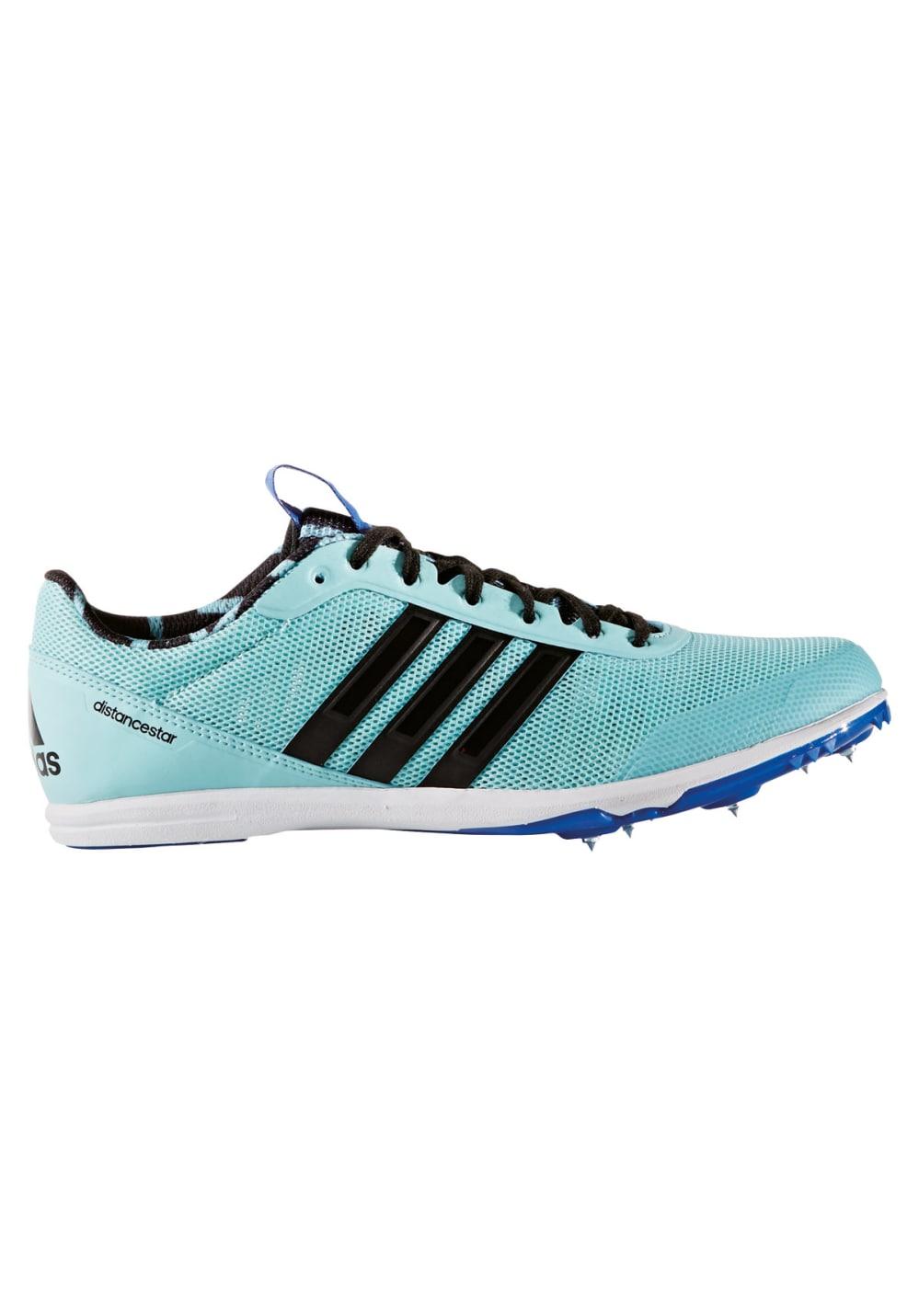 best website d67cf 6685d adidas Distancestar - Spikes für Damen - Blau  21RUN