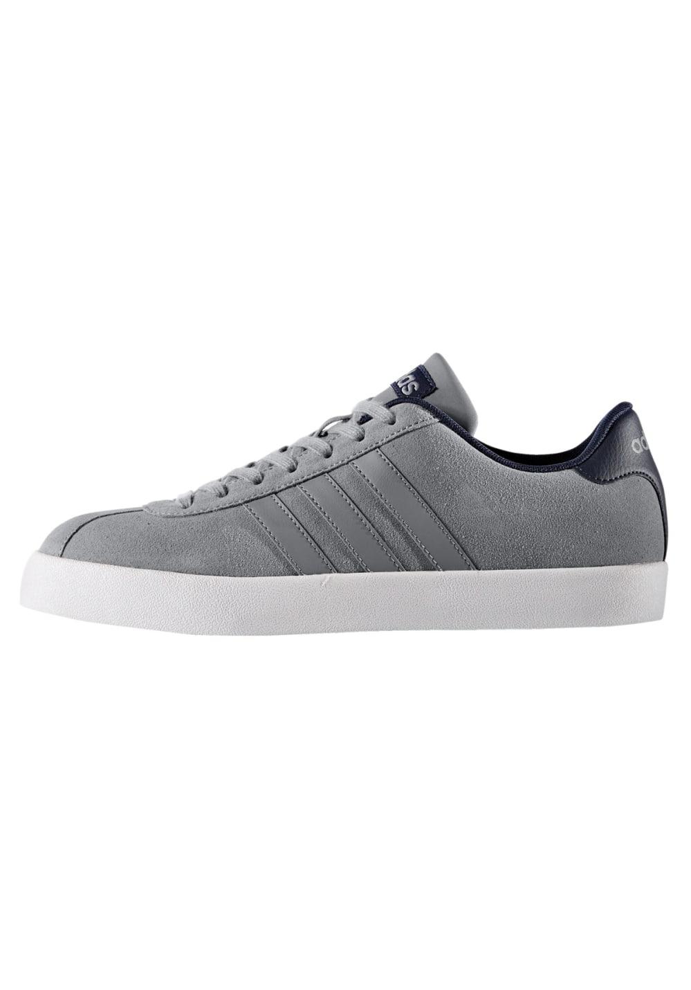 adidas neo VL Court Vulc Sneaker for Men Grey