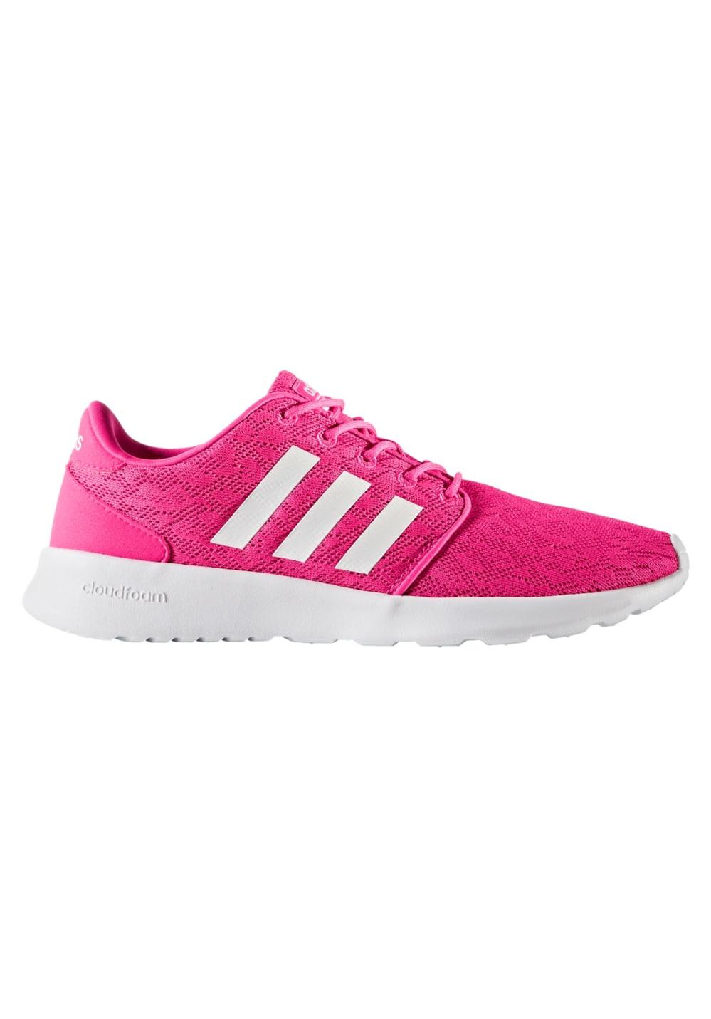21a69b710caa Adidas Neo Cloudfoam Qt Racer Pink Adidas Women s Cloudfoam Qt Racer ...