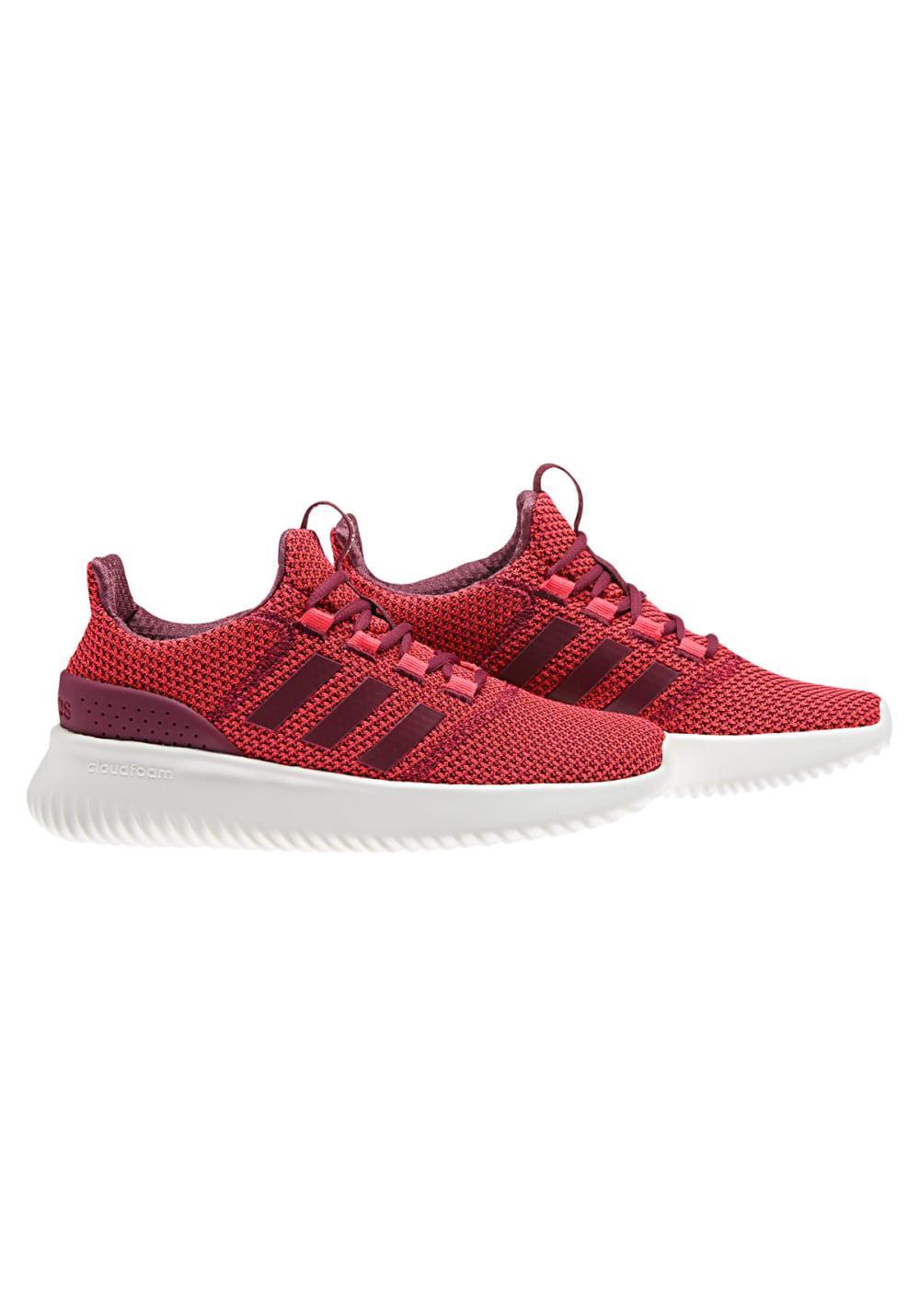 magasin en ligne 33396 22001 adidas neo Cloudfoam Ultimate - Baskets pour Femme - Rouge