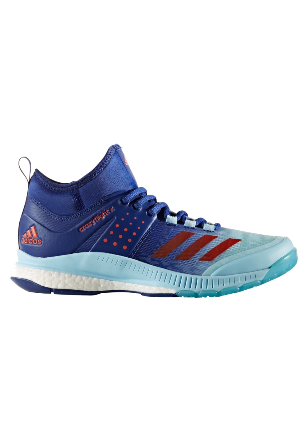 adidas Crazyflight X Mid - Volleyballschuhe für Damen - Blau