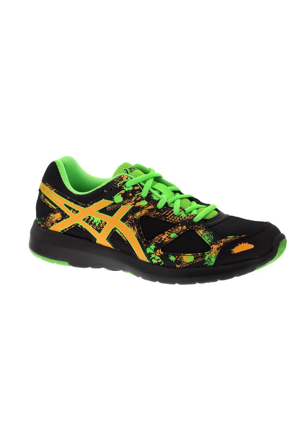 f7d3db0b317c ASICS GEL-Lightplay 3 GS - Running shoes - Black