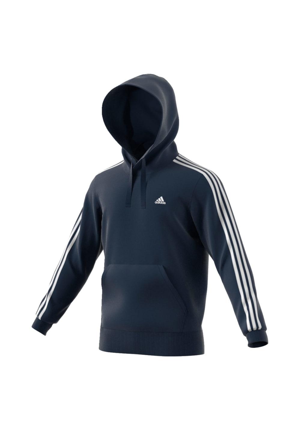 adidas Essentials Pullover Hoodie Sweatshirts & Hoodies für Herren Blau