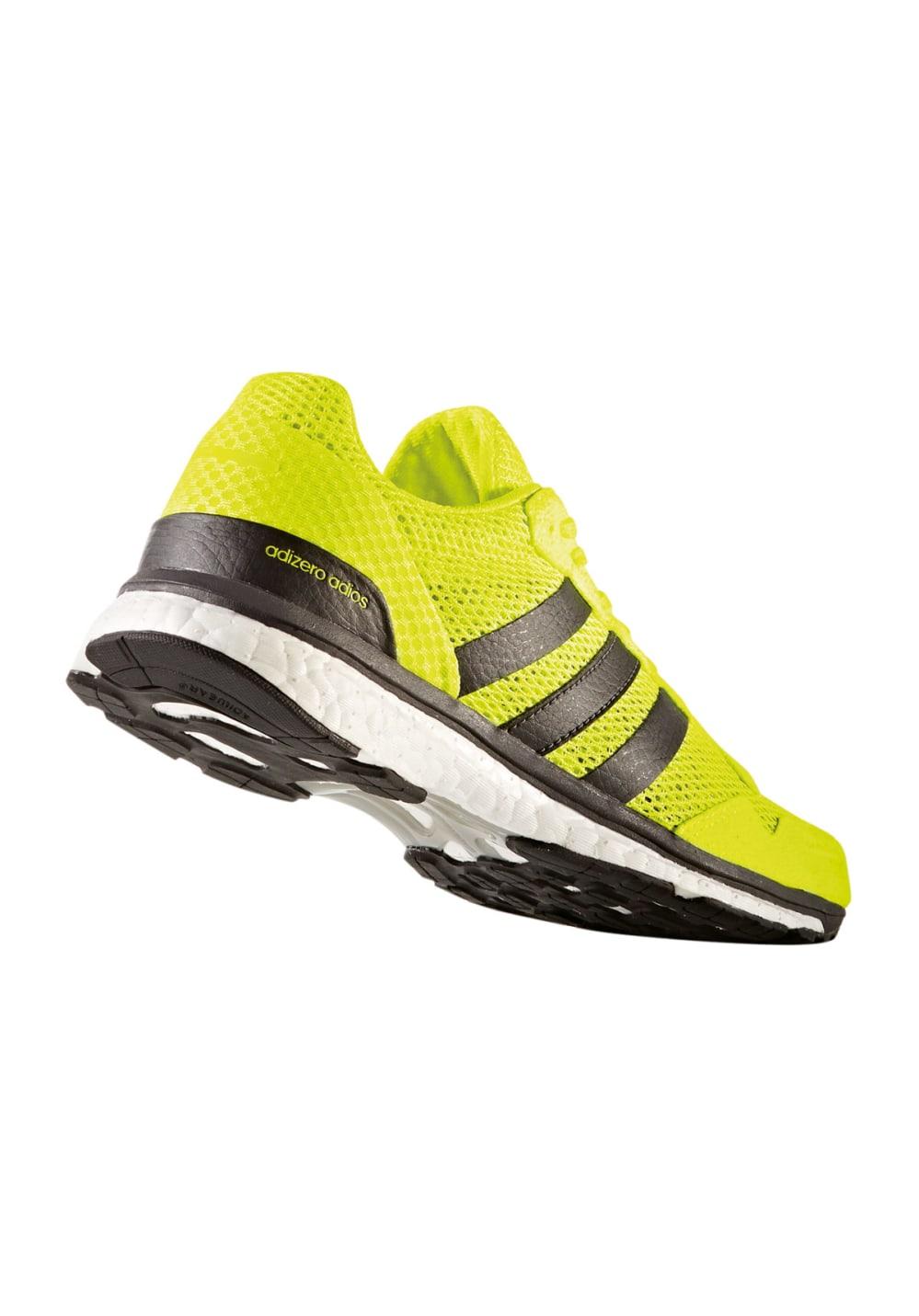 adidas adizero Adios 3 - Laufschuhe für Damen - Gelb