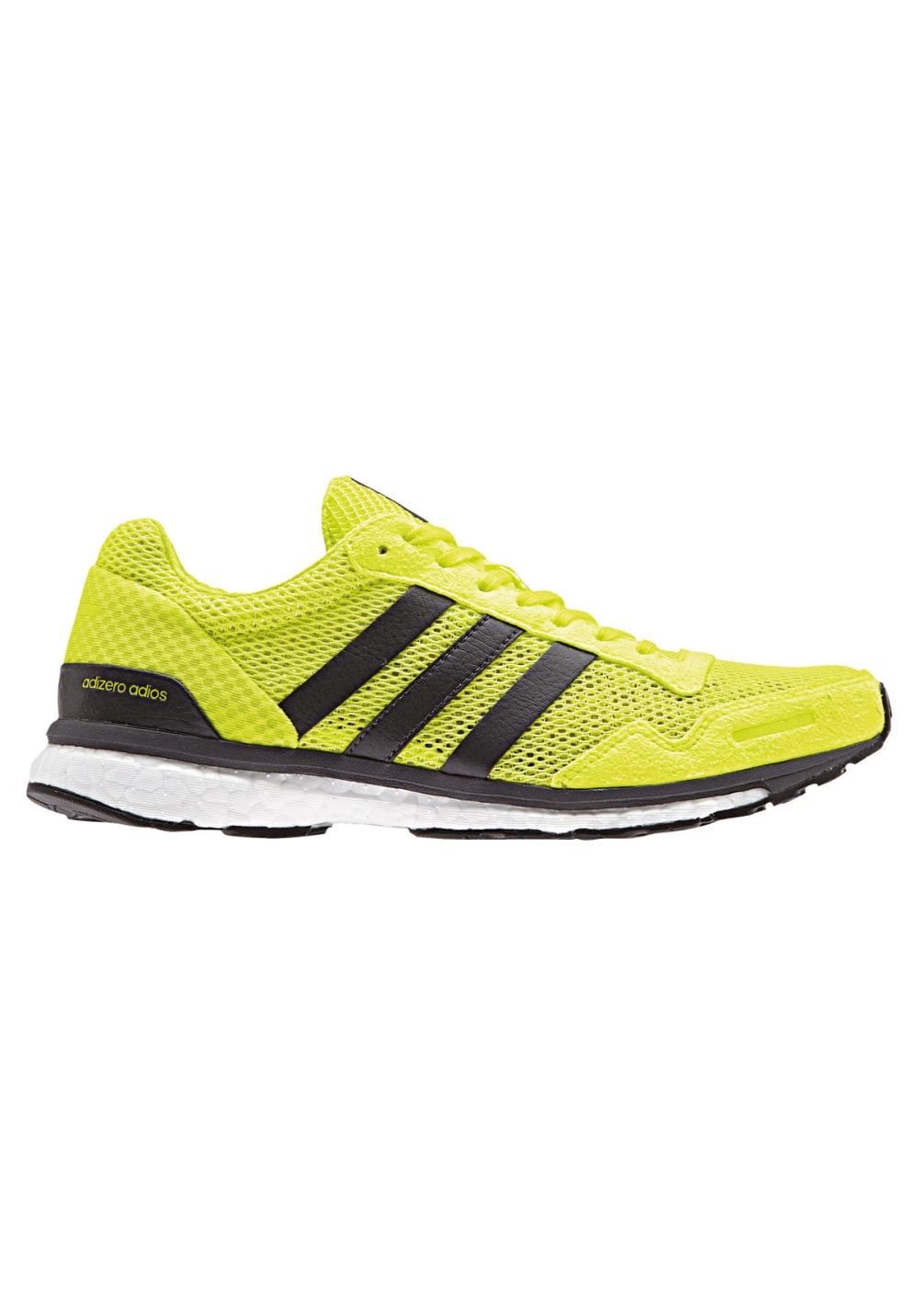 adidas adizero Adios 3 - Chaussures running pour Femme - Jaune