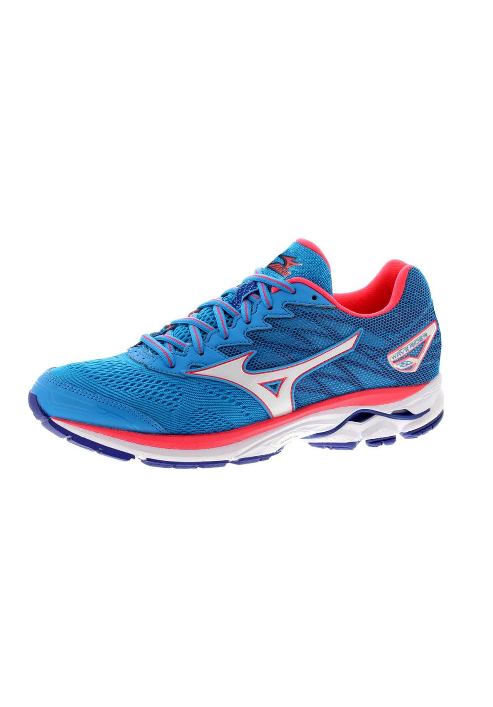 Mizuno Wave Rider 20 - Running shoes for Women - Blue  6b0c0e9653951