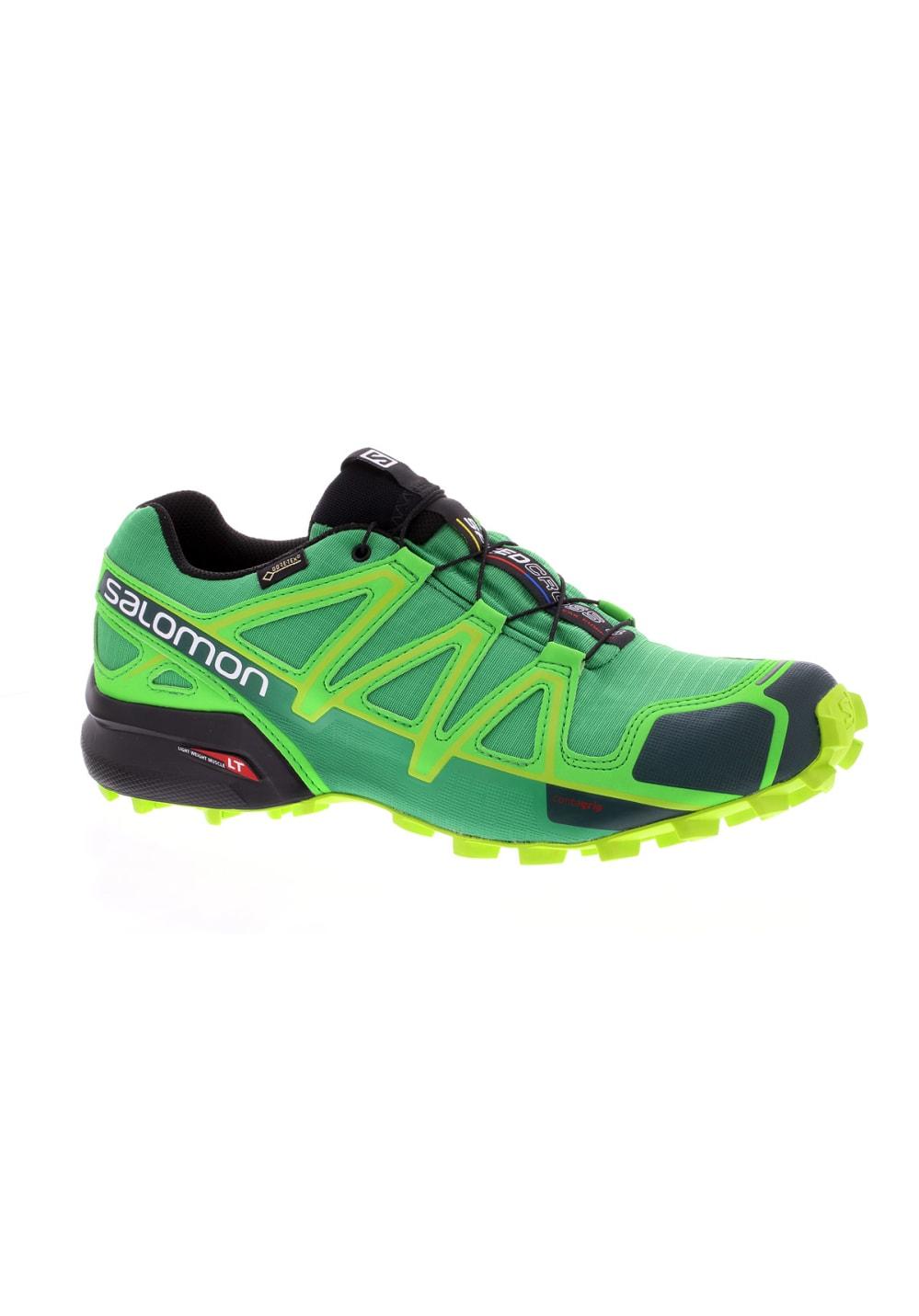752e7fcd Salomon Speedcross 4 GTX - Running shoes for Men - Green | 21RUN