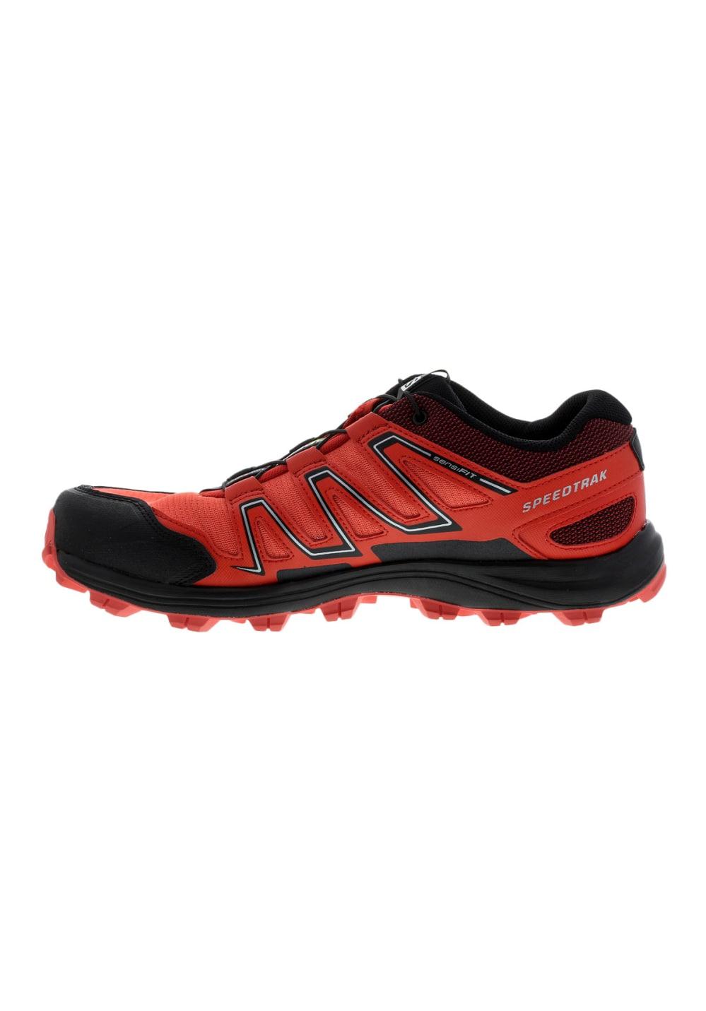 on sale 63e1e 17c6f Salomon Speedtrak - Running shoes for Women - Black