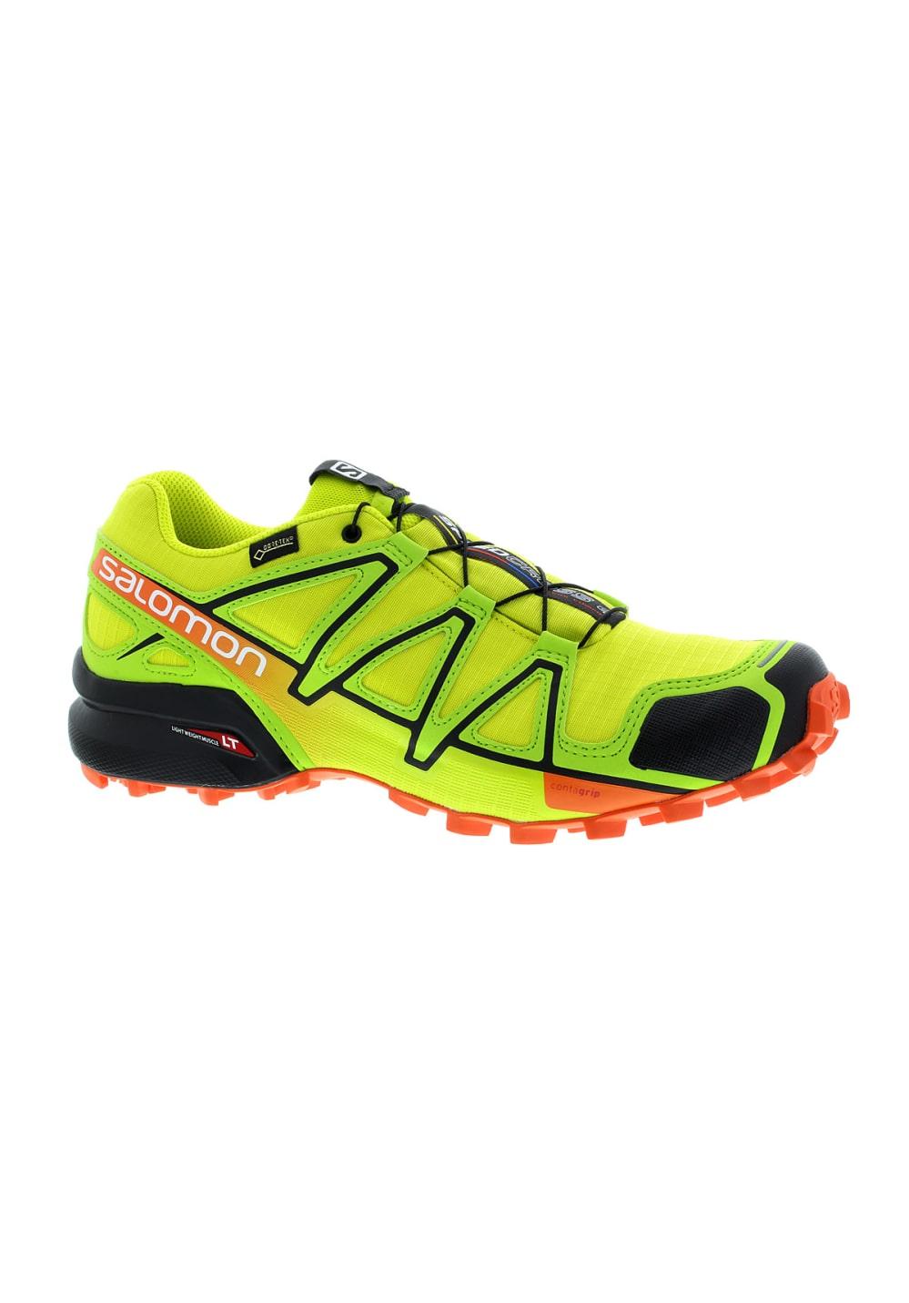 grossiste 87fc2 ed1d8 Salomon Speedcross 4 GTX - Running shoes for Men - Yellow