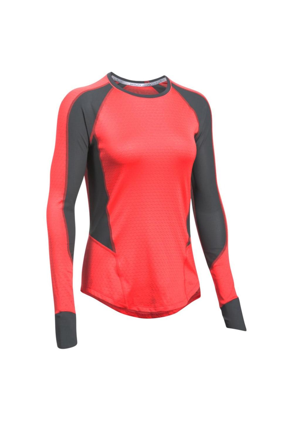 73e7c080 Under Armour Allseason Reactor Run Long Sleeve - Running tops for Women -  Pink