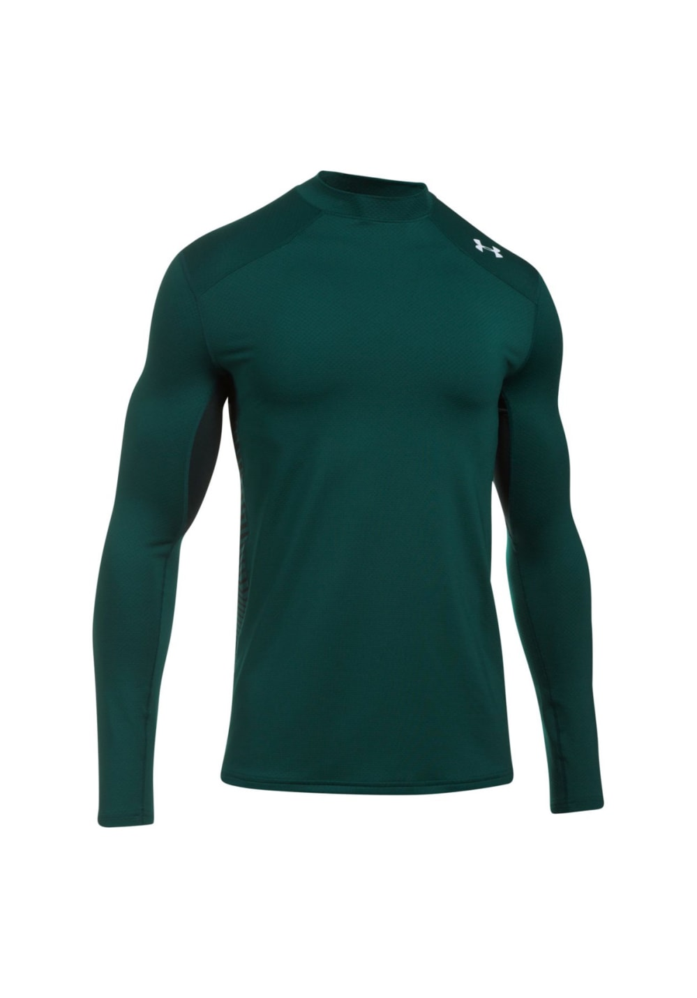 9a67375d97 Under Armour ColdGear Reactor Fitted Long Sleeve - Fitness tops for Men -  Green