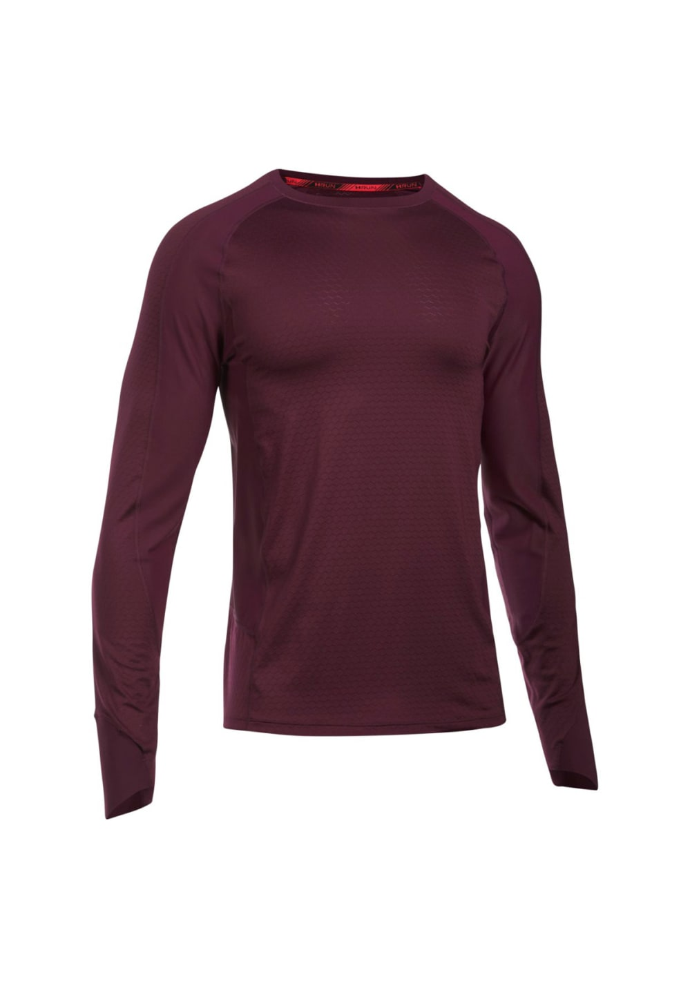10a1596c Under Armour ASG Reactor Run Long Sleeve - Running tops for Men - Red