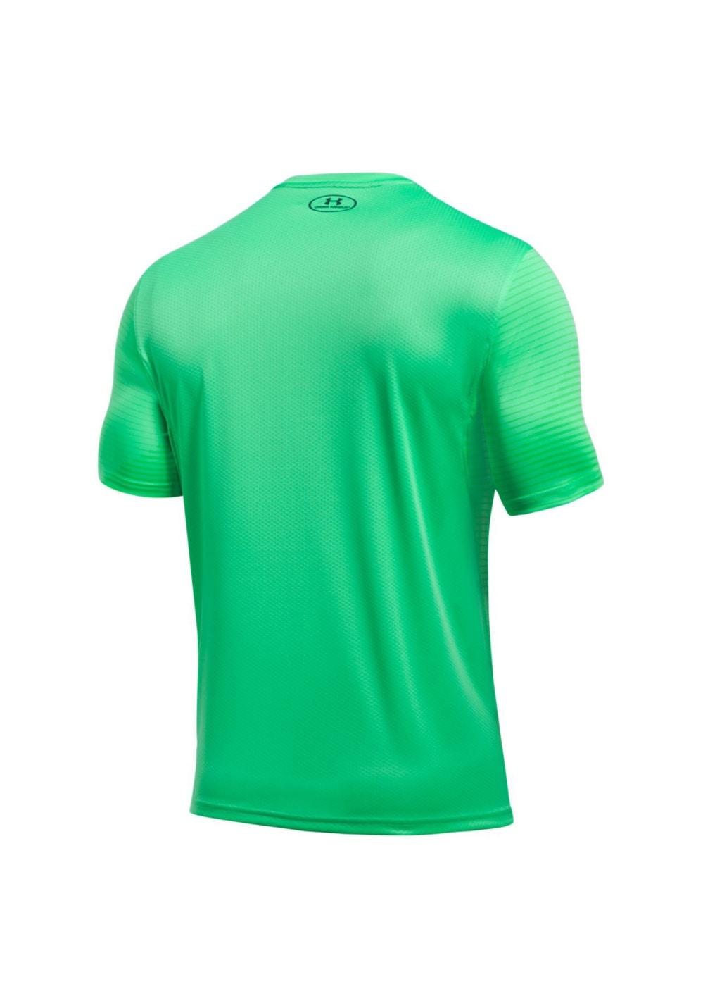 845899da85 Under Armour Challenger II Printed Train Tee - Running tops for Men - Green
