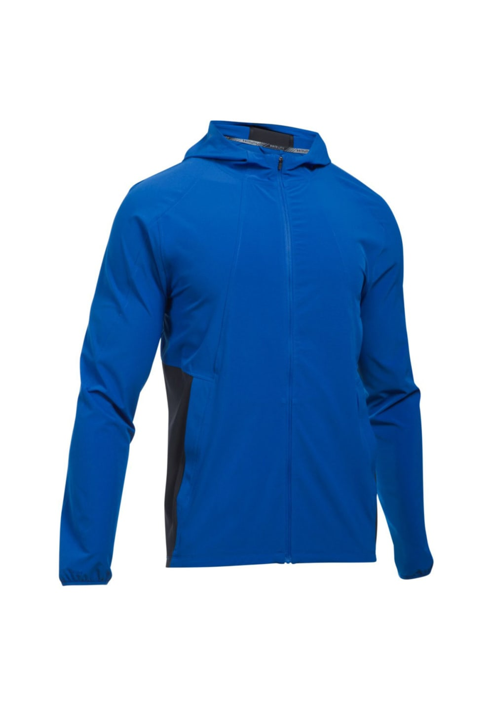 Under Armour Outrun The Storm Mens Running Jacket Blue Jackets & Vests Fitness, Running & Yoga
