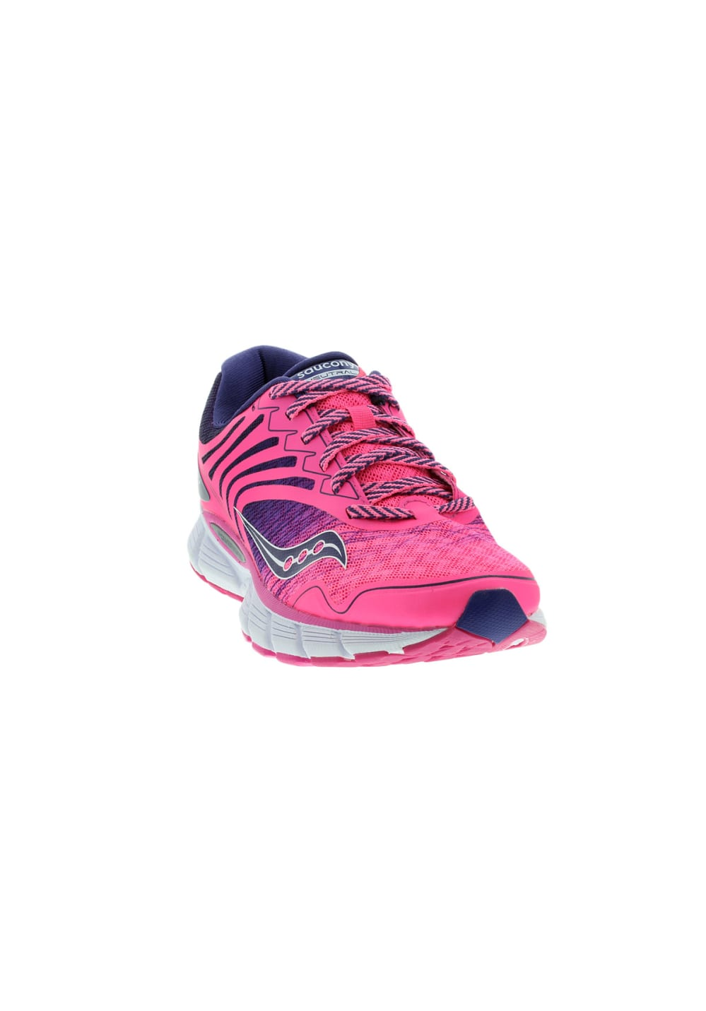 Womens Running Shoes Pink Saucony Breakthru 2 Running