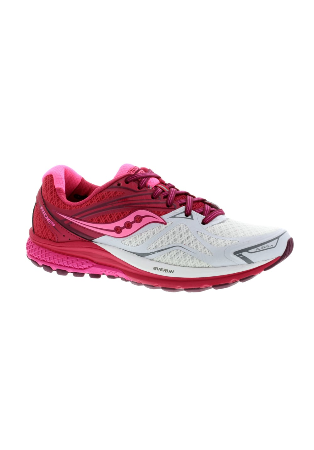 fa393eb03a4b Saucony Ride 9 - Running shoes for Women - Red