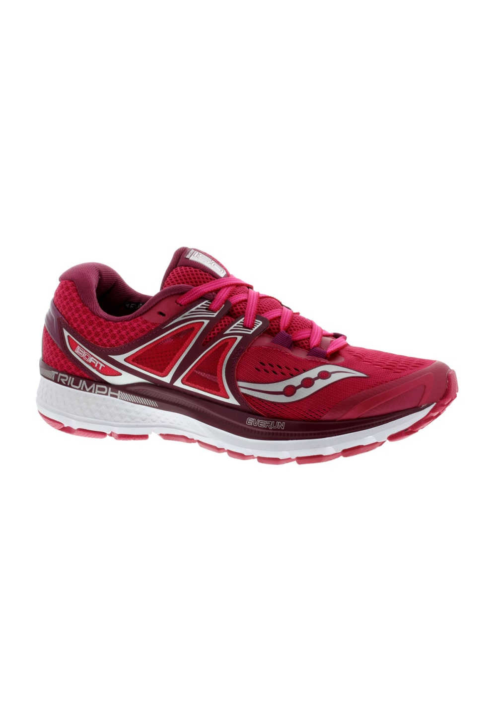 Saucony TRIUMPH ISO 3 - Chaussures de running neutres rouge