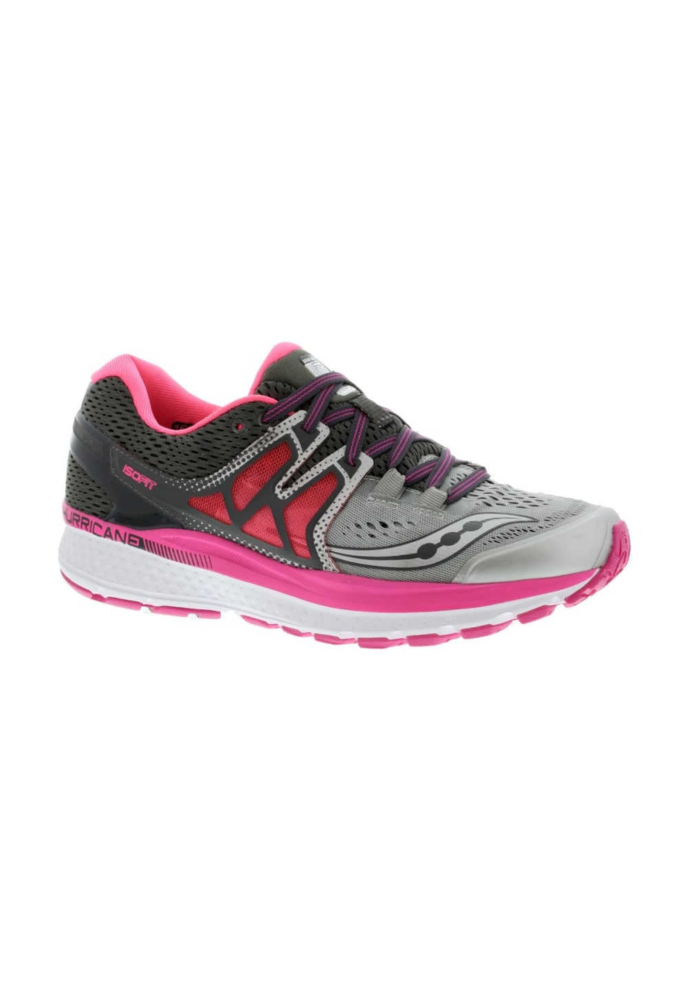 63ce35ce Saucony Hurricane Iso 3 - Running shoes for Women - Grey