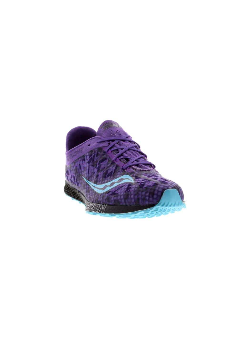 fed539e4eab3 Saucony Endorphin Racer 2 - Running shoes for Women - Purple