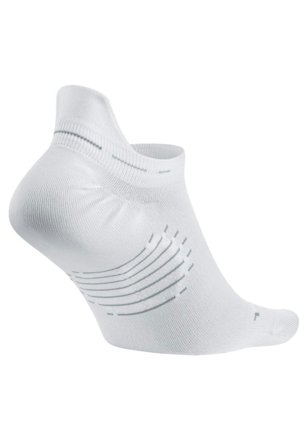 ade77127b2a03 Nike Elite Lightweight No-Show Tab - Running socks - White