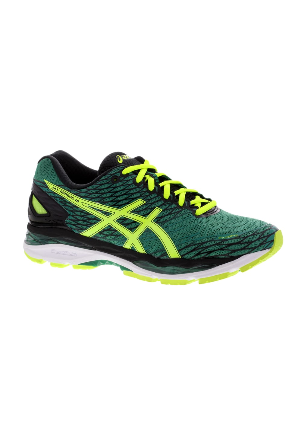 ASICS GEL-Nimbus 18 - Running shoes for Men - Green