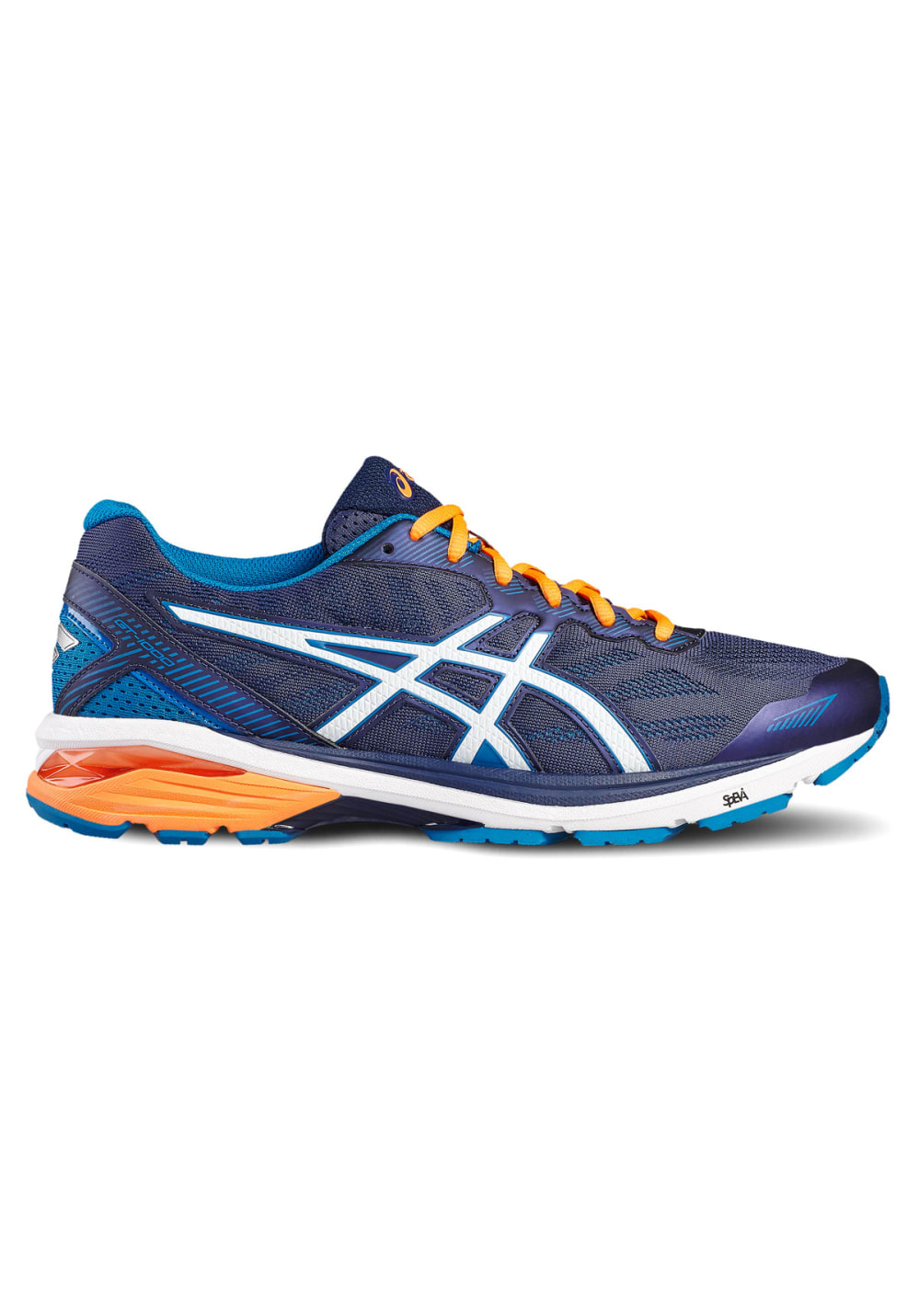 asics gt 1000 5 chaussures running pour homme noir 21run. Black Bedroom Furniture Sets. Home Design Ideas