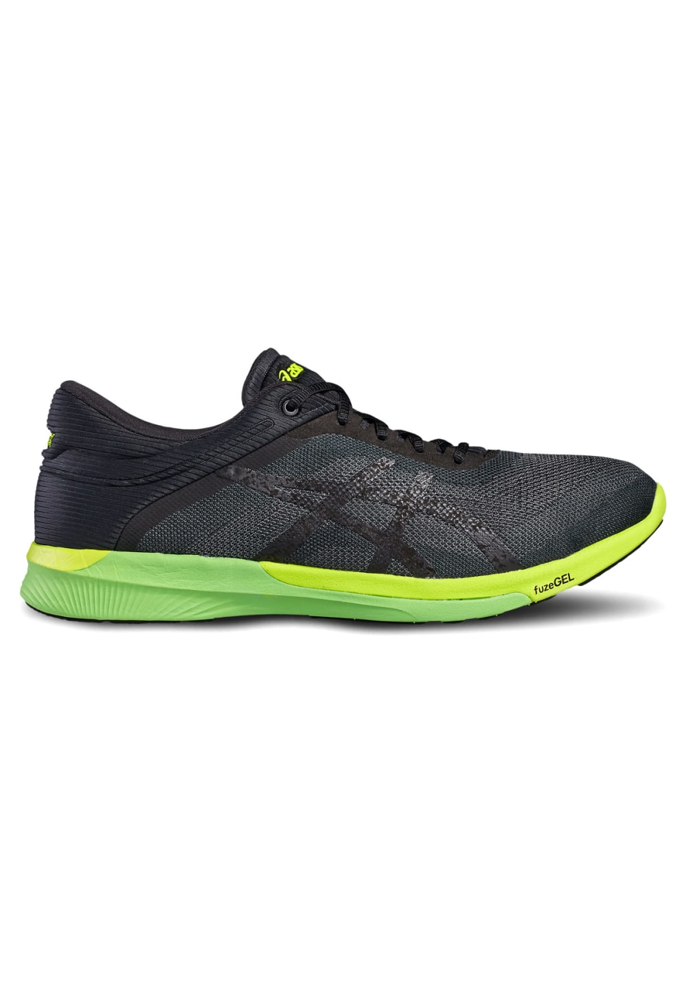 nouveau concept e9f3c 3ef21 ASICS fuzeX Rush - Running shoes for Men - Black