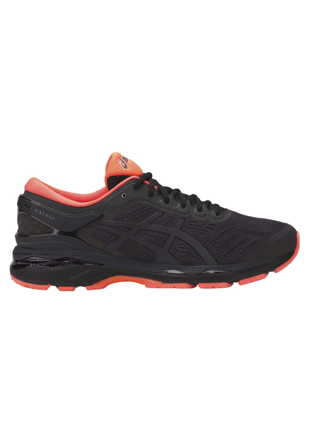 asics gel kayano 24 lite show running shoes for men black 21run. Black Bedroom Furniture Sets. Home Design Ideas