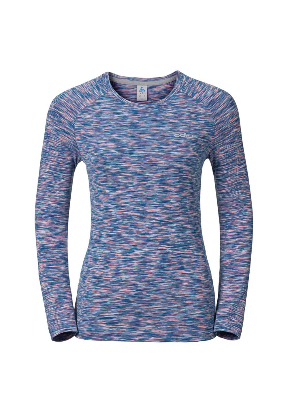 Odlo t shirt long sleeve sillian running tops for women for Long sleeve running shirt womens