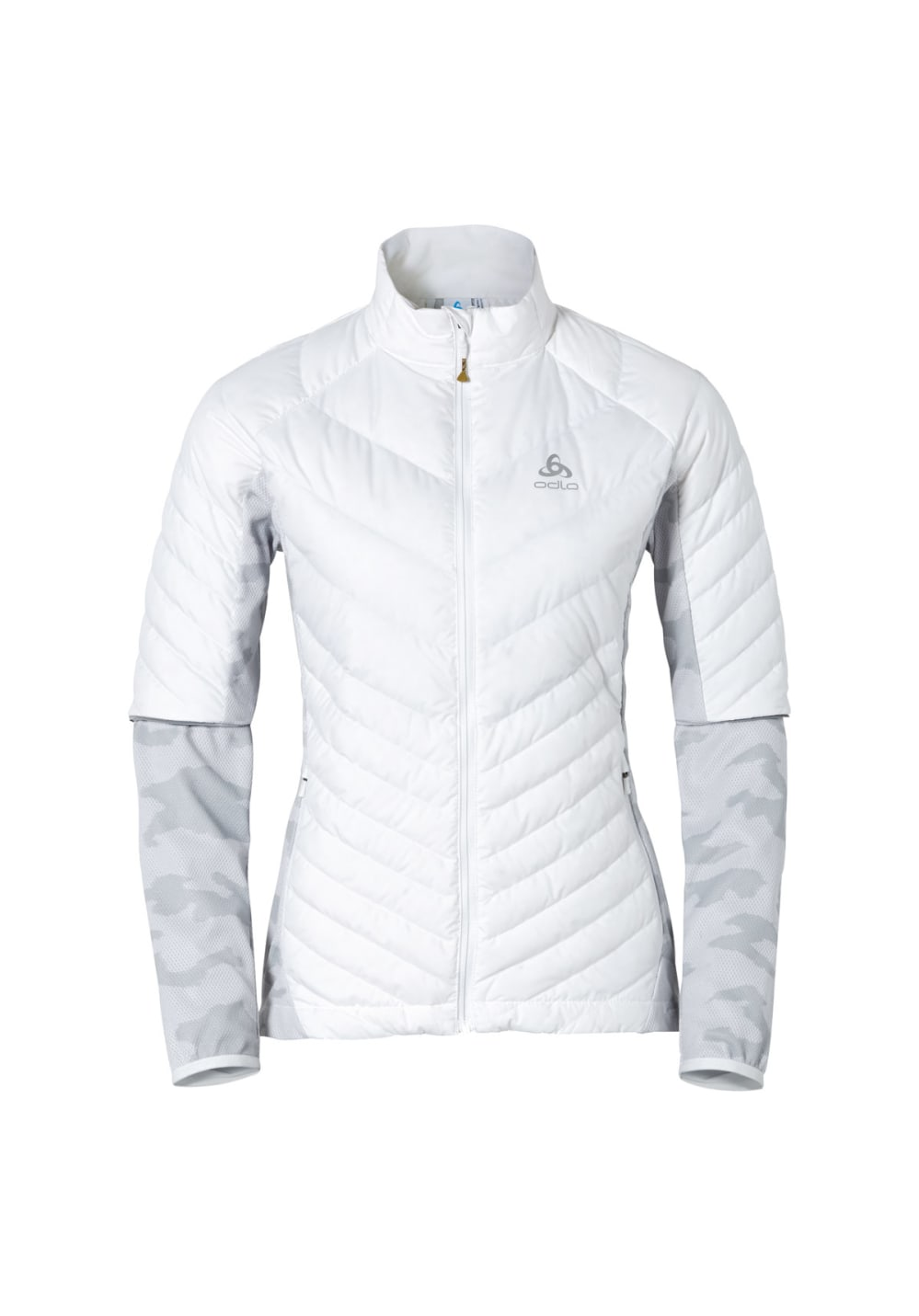 Odlo Jacket Flender Down - Running jackets for Women - White | 21RUN