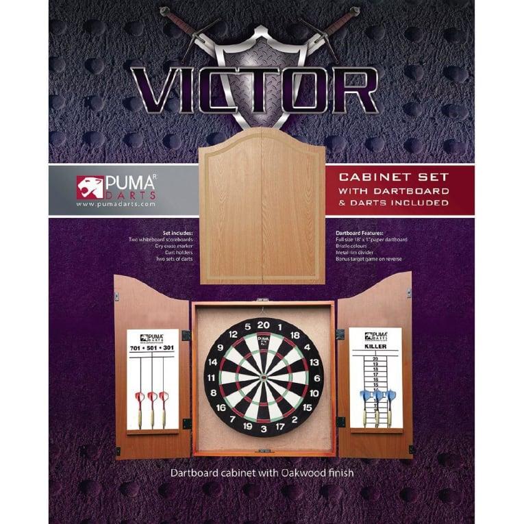 Buy Puma Darts Dartboard Cabinet Darts Set For Nzd 59 00
