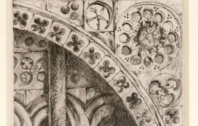 Sketch by John Ruskin