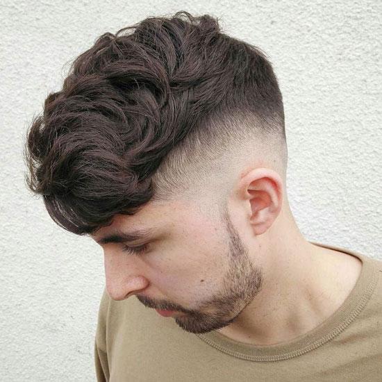 Kiểu tóc Textured with Skin Fade
