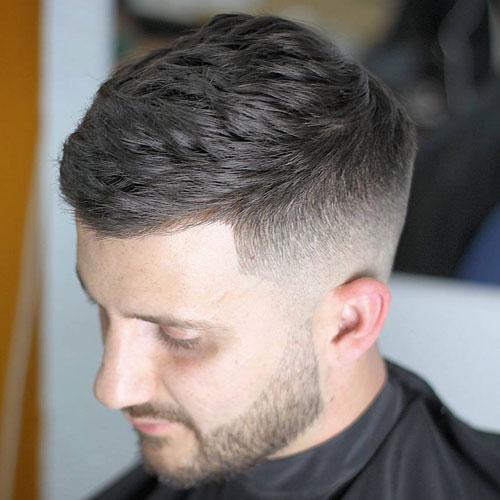 Kiểu tóc Brush up Fade
